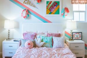 Dubový nábytok detské izby